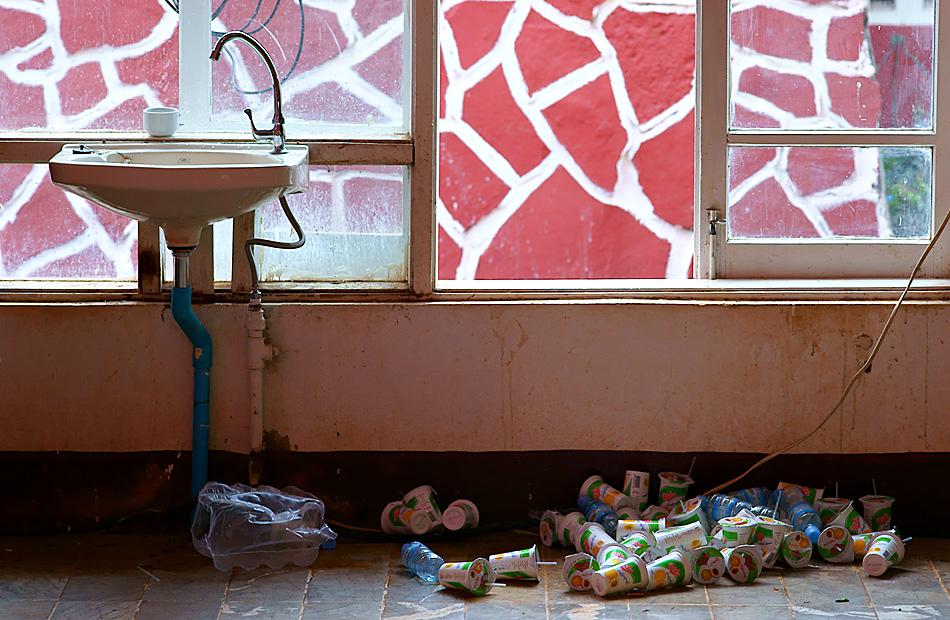 Reisebericht:  2009 - Teil 29 – Nach einem Kongress Mittagessen in Lashio