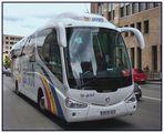 Reisebus in Brüssel