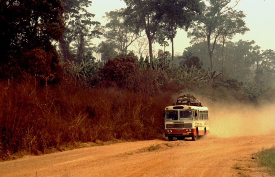 Reisebus in Nordghana