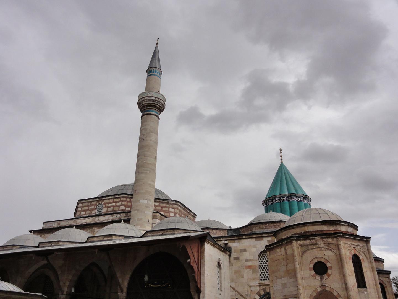 Reiseimpr.IV- Konya, das Mevlana Mausoleum-