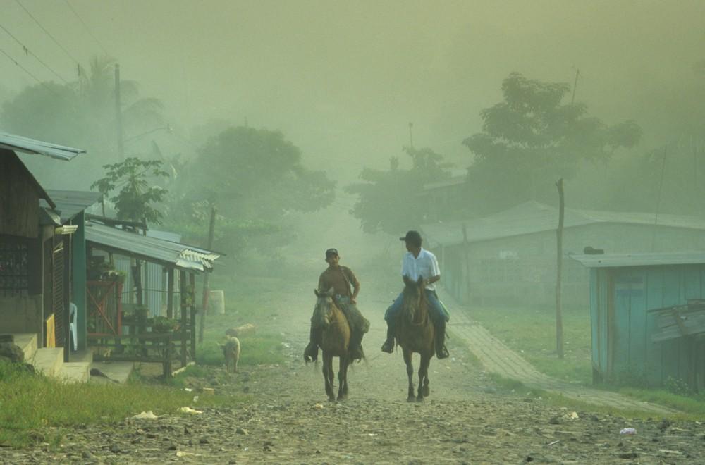 Reiter im Nebel