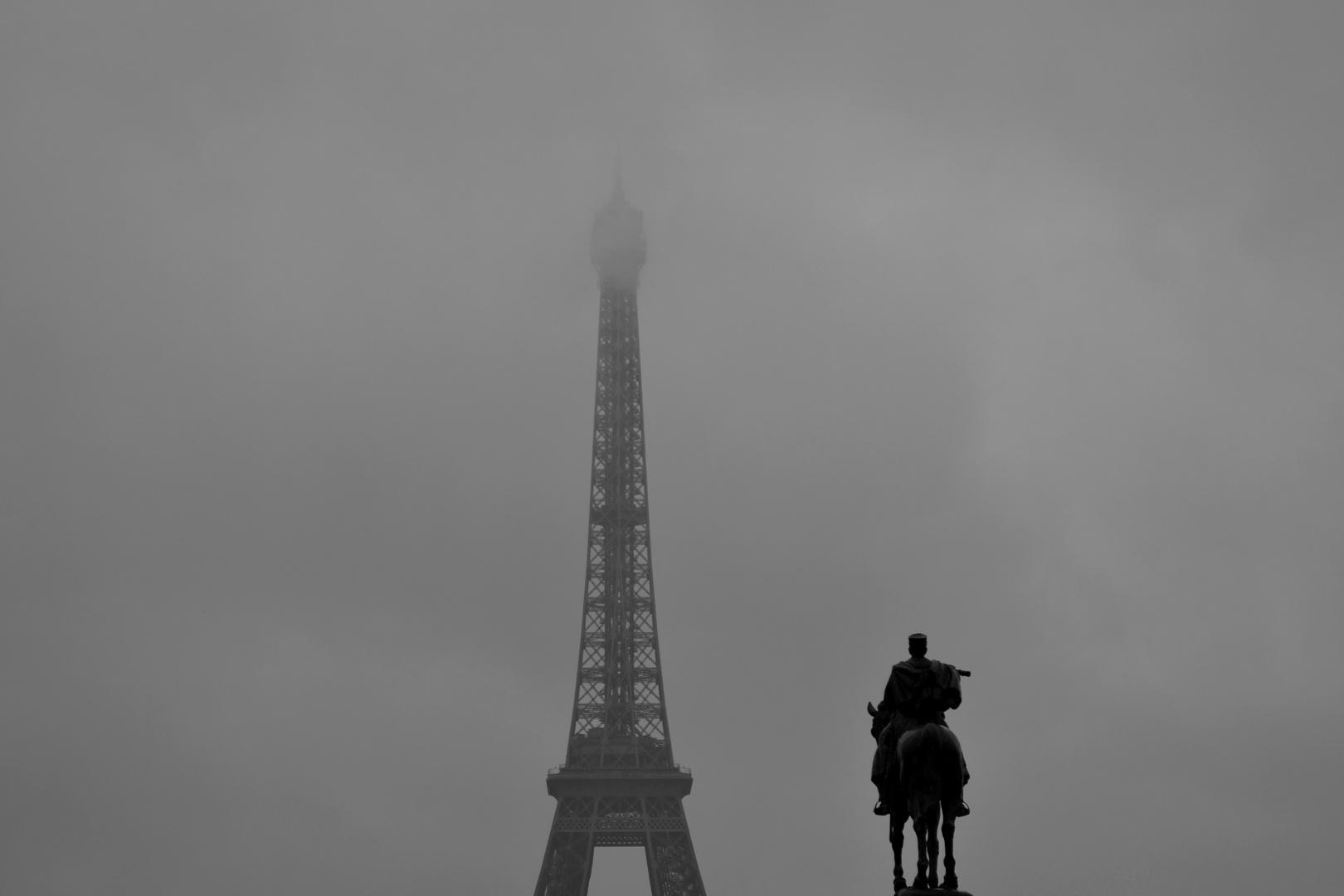 Reiter in den Wolken