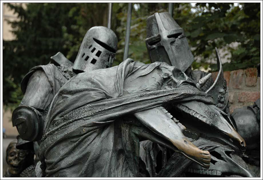 Reiter mit dem Tod im Gefolge