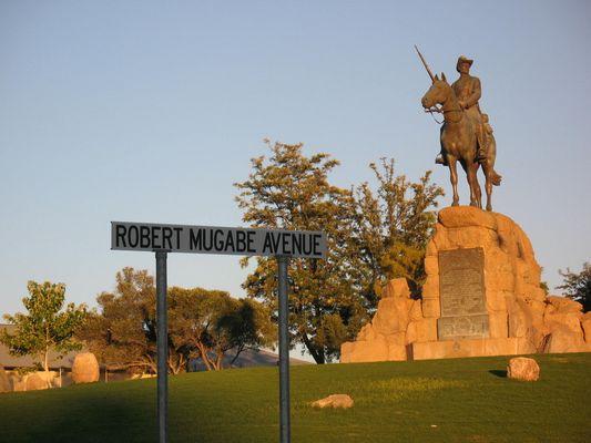 Reiterdenkmal in Windhoek