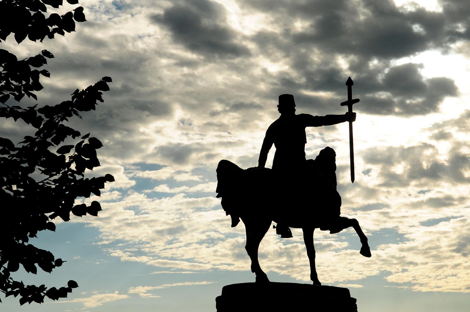 Reiterstandbild von Erekle II (Telawi, Georgien)