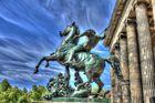 Reiterstatur auf der Museumsinsel