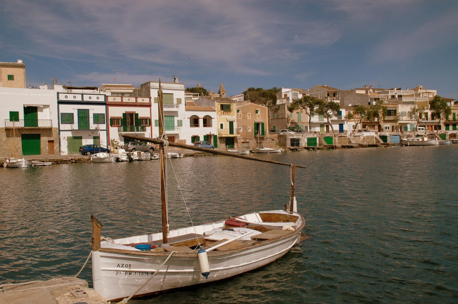 reizvoller Hafen Portcolom