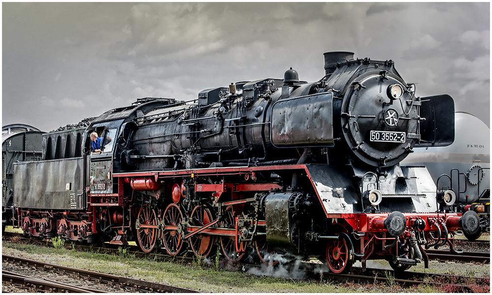 Reko - Güterzug - Dampflok 50 3552-2