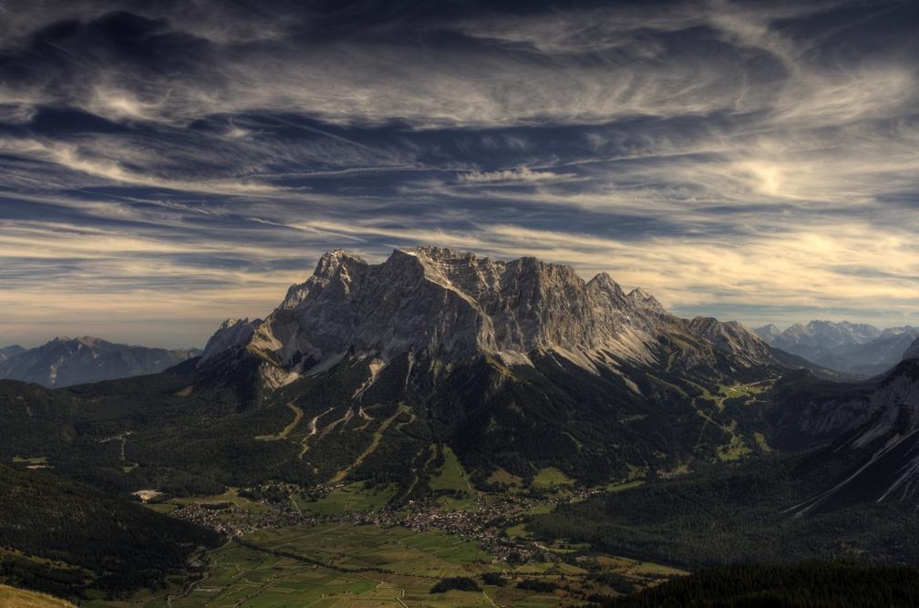 Relativ unbekannter Berg