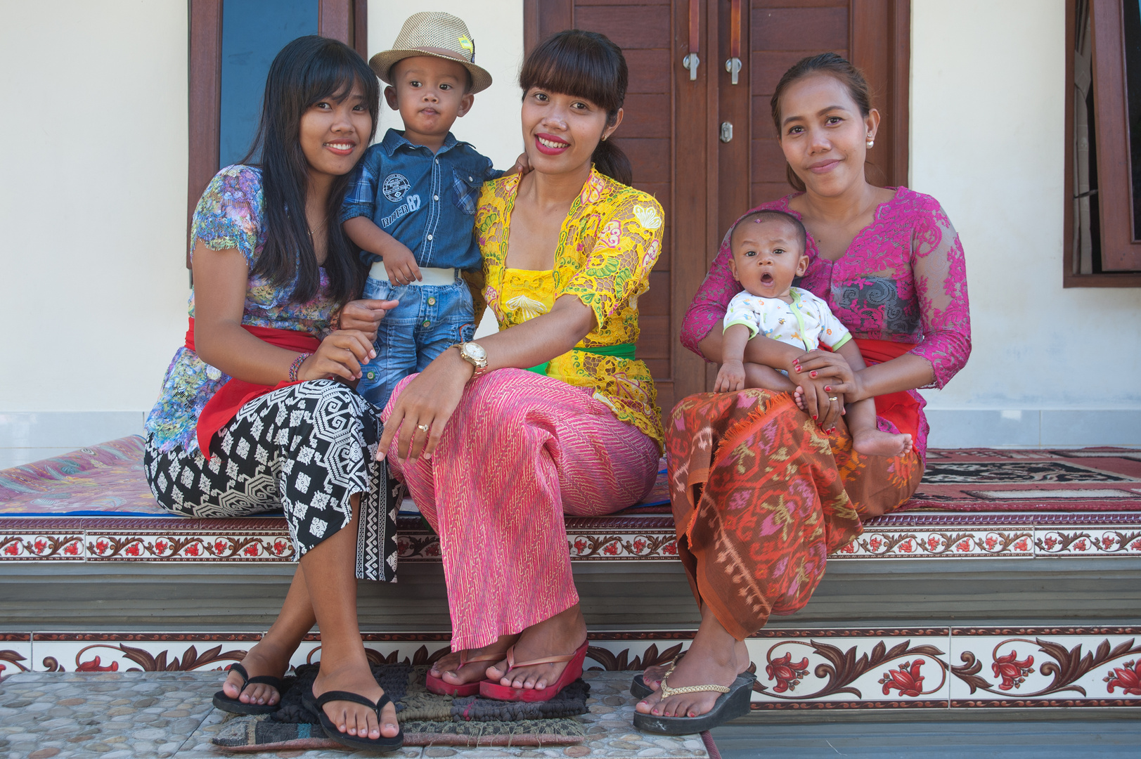 Relatives in Balinese family