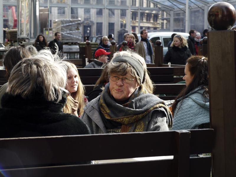 Relax sulla Grand Place di Bruxelles