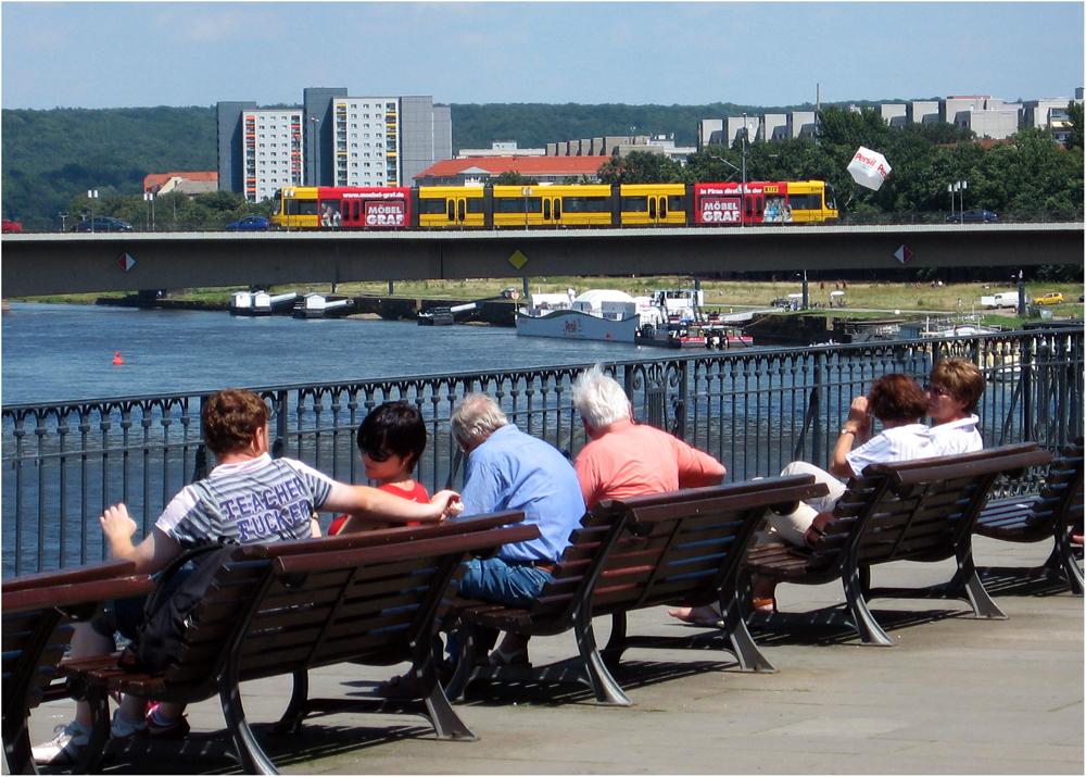 .... relaxen an der Elbe