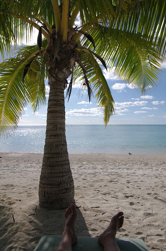 Relaxen auf Aitutaki