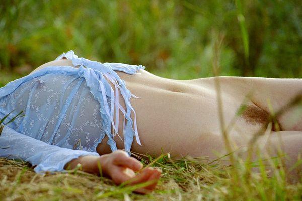 Relaxen im Gras