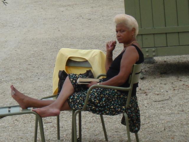 Relaxen im Jardin du Luxembourg