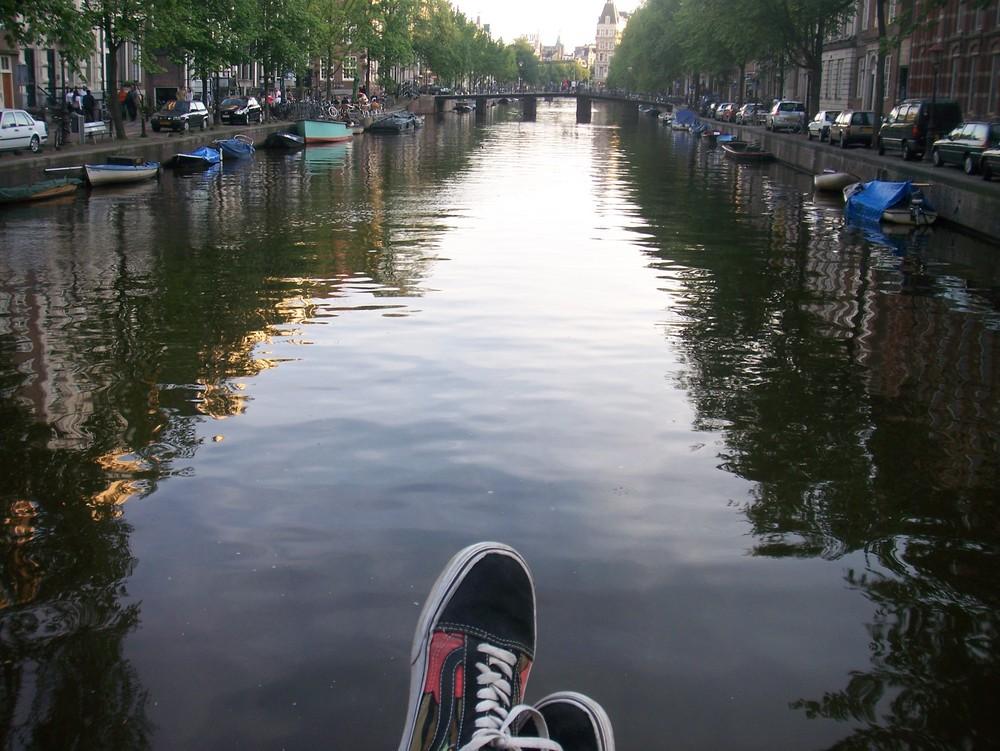 relaxen in Amsterdam