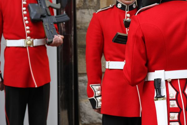relève de la garde, LONDRES
