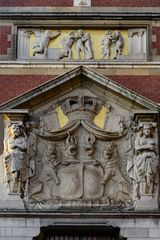 Relief am  Amsterdam Centraal