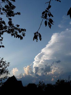 relief de nuages