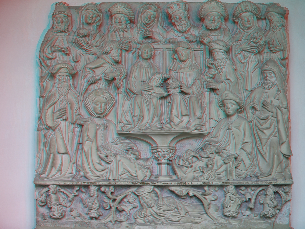 Relief im Paulus Dom zu Münster