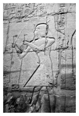 Relief Karnak Tempel