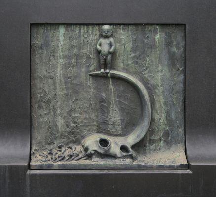 Relief vom Brunnen des Lebens