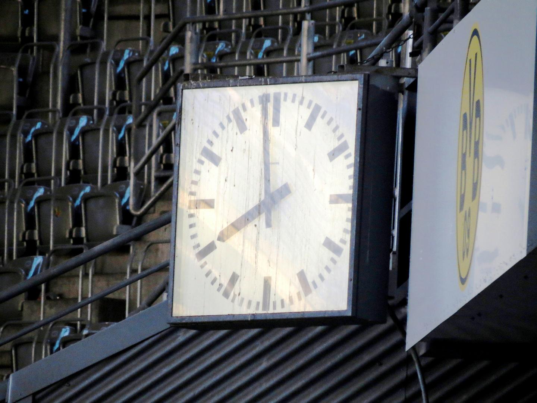 Relikt im Stadion