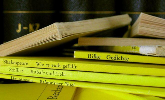 Relikte aus der Deutschstunde