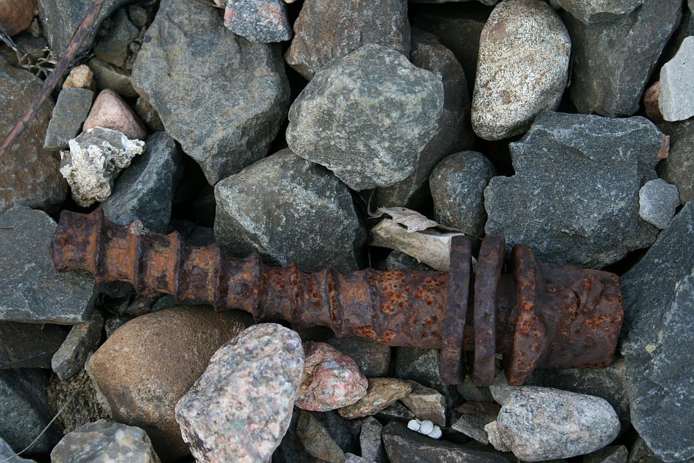 Reliquie aus vergangenen Eisenbahnzeiten