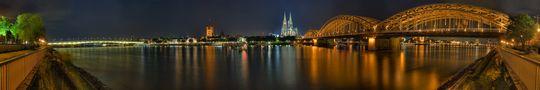 *RELOAD* Köln Panorama DRI von Patrick Gawandtka