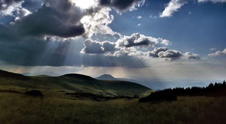 Reload Sonnenspiele am Rodna Massiv-Rumänien