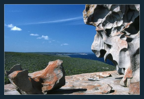Remarkable Rocks - The lions head
