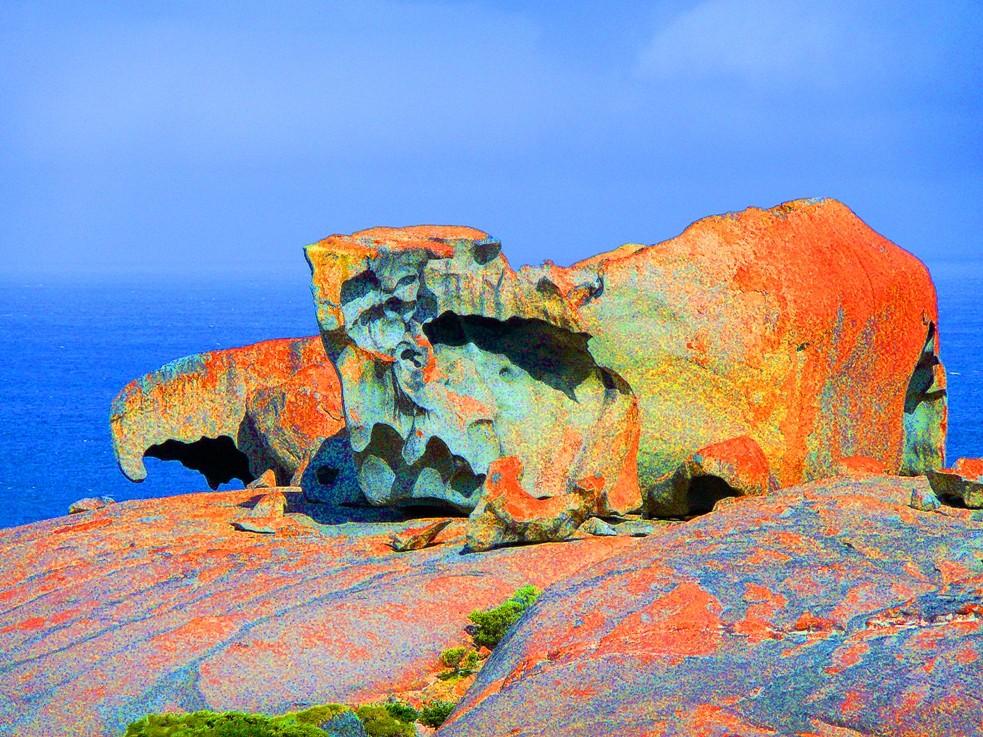 Remarkable Rocks - verfremdet