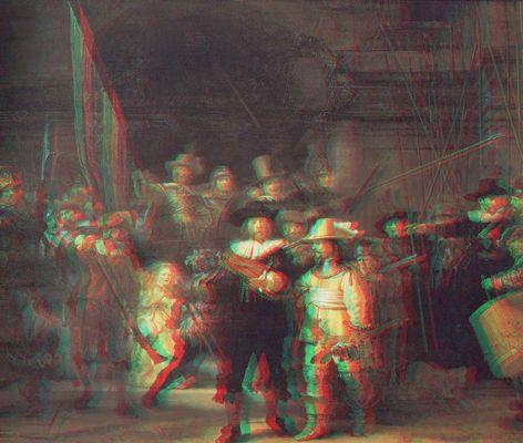 Rembrandt: Die Nachtwache 3D