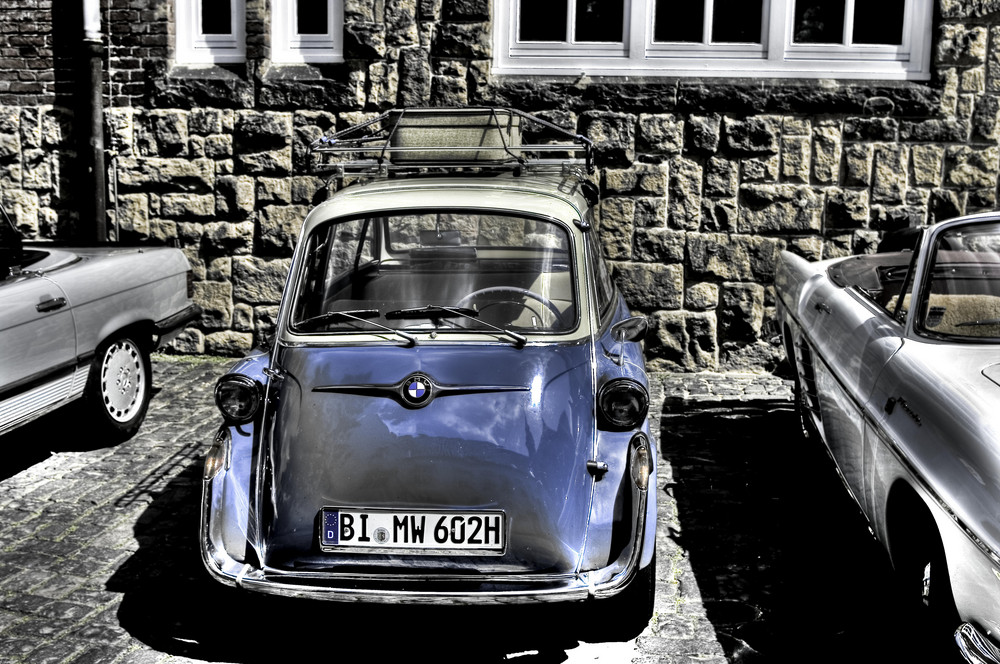 Remember the 50´s. BMW 600