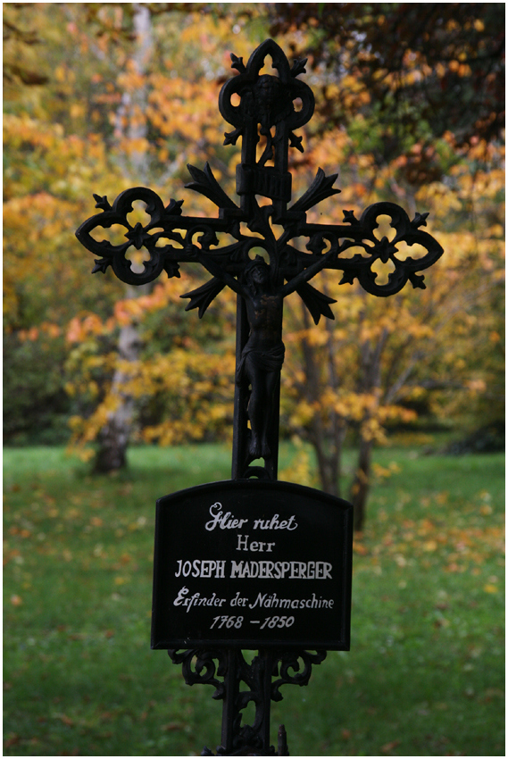 Remembering Madersperger