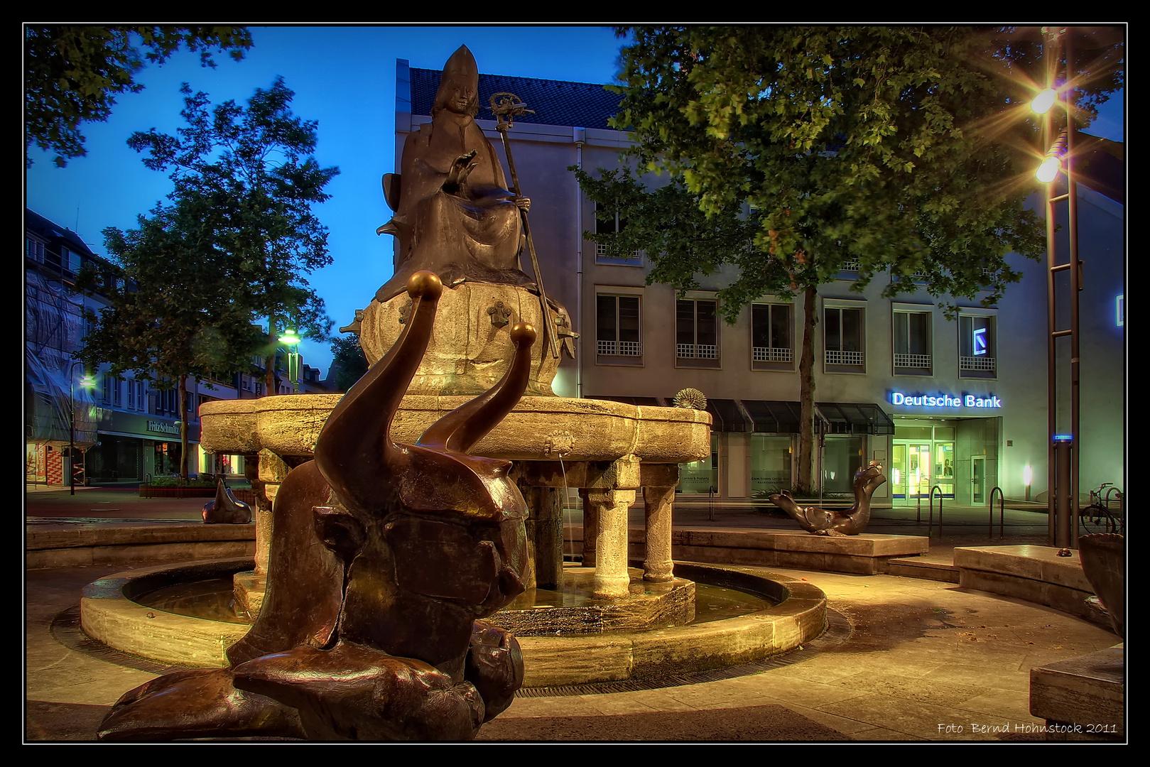 Remigiusbrunnen ... Stadt Viersen