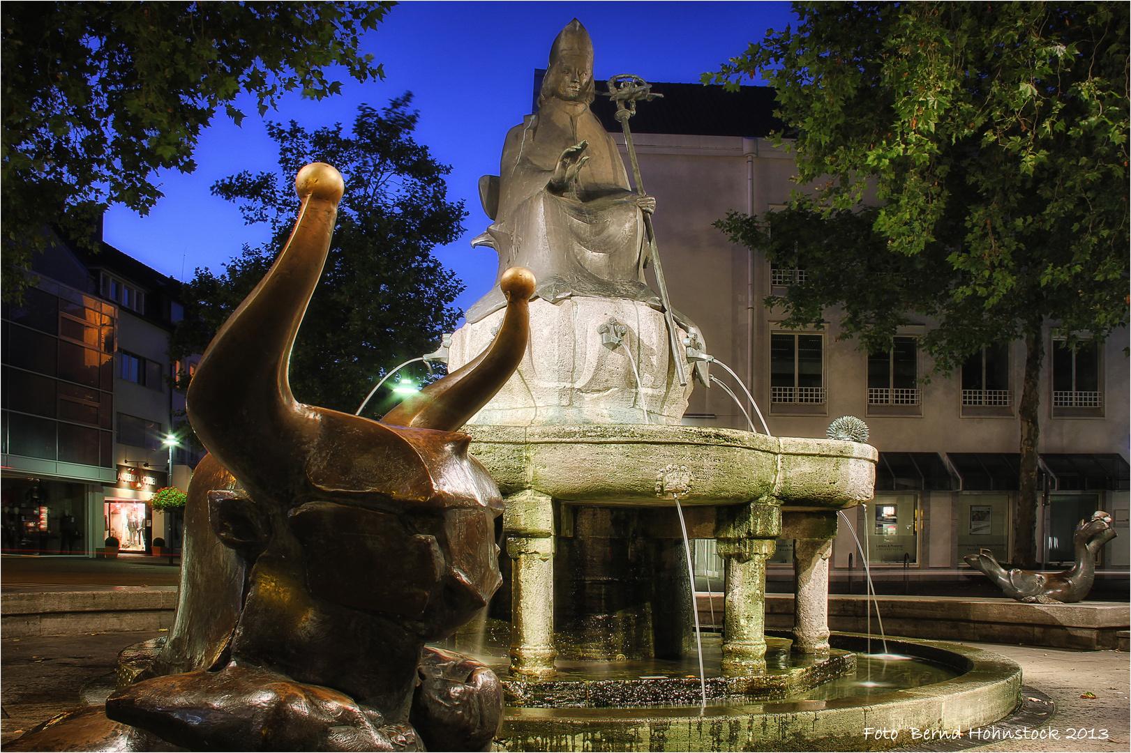 Remigiusbrunnen zu Viersen ...