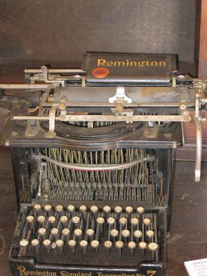 Remington Schreibmaschine....