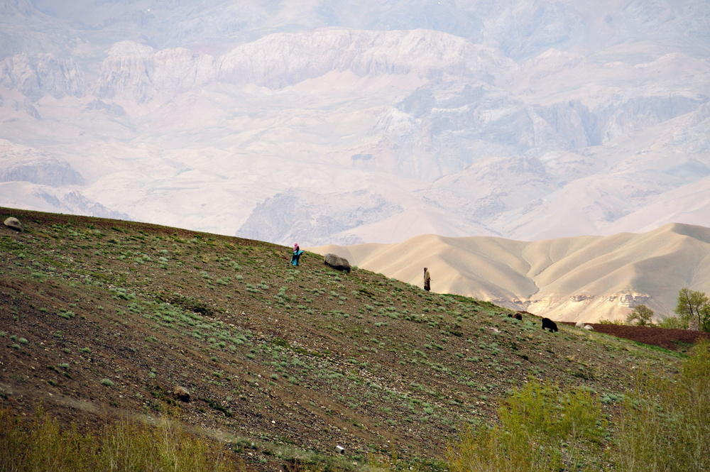 Remote area of Bamiyan province