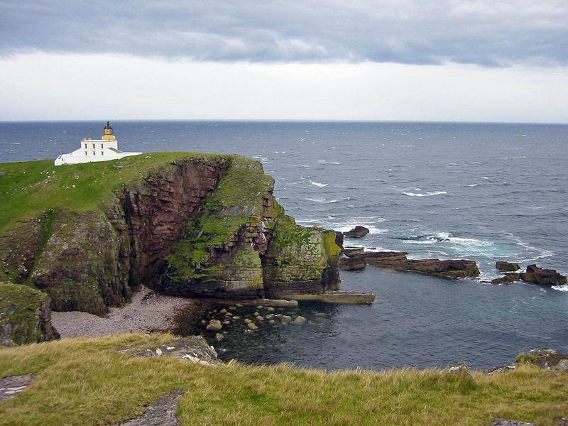 ...remote lighthouse...