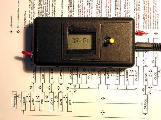 Remote Timer für EOS Kameras im Eigenbau
