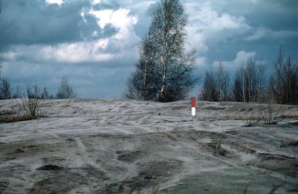 Renaturierte Tagebaulandschaft