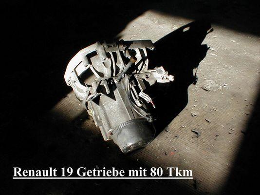 Renault 19 Getriebe