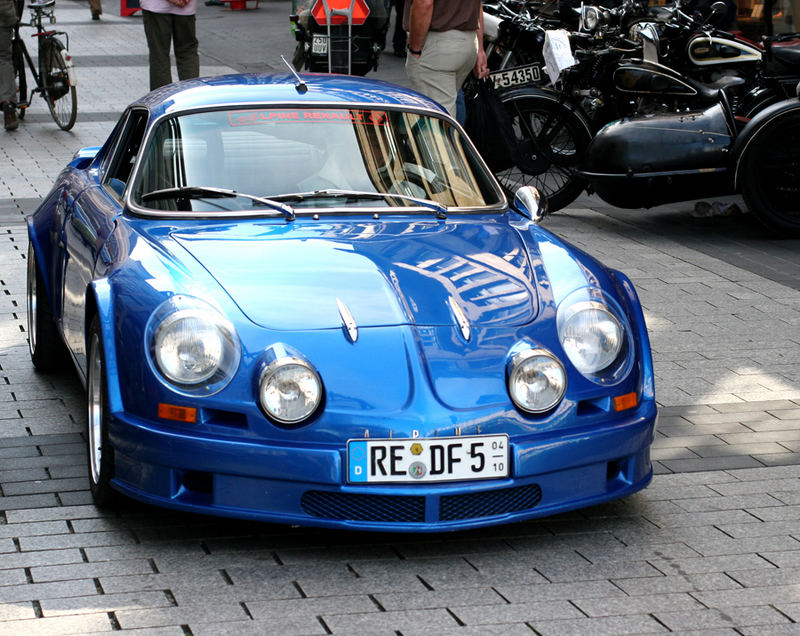 Renault Alpine  - blaue Version