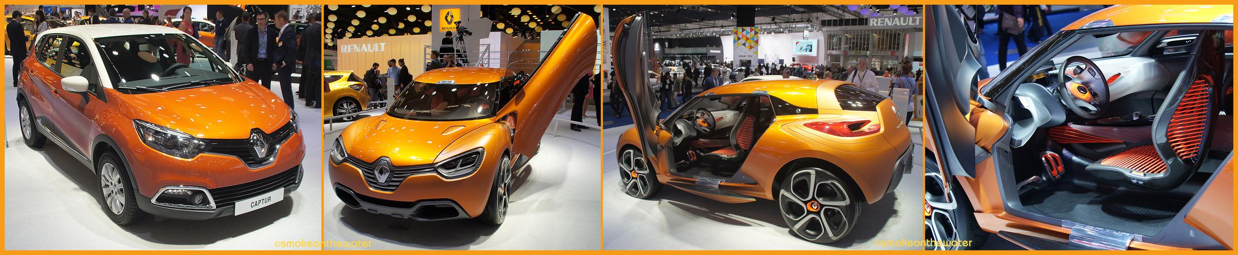 Renault Captur – Serie vs. Concept