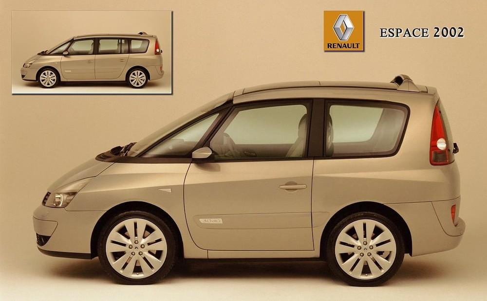 Renault Espace 2002 - Die Antwort auf den smart fortwo