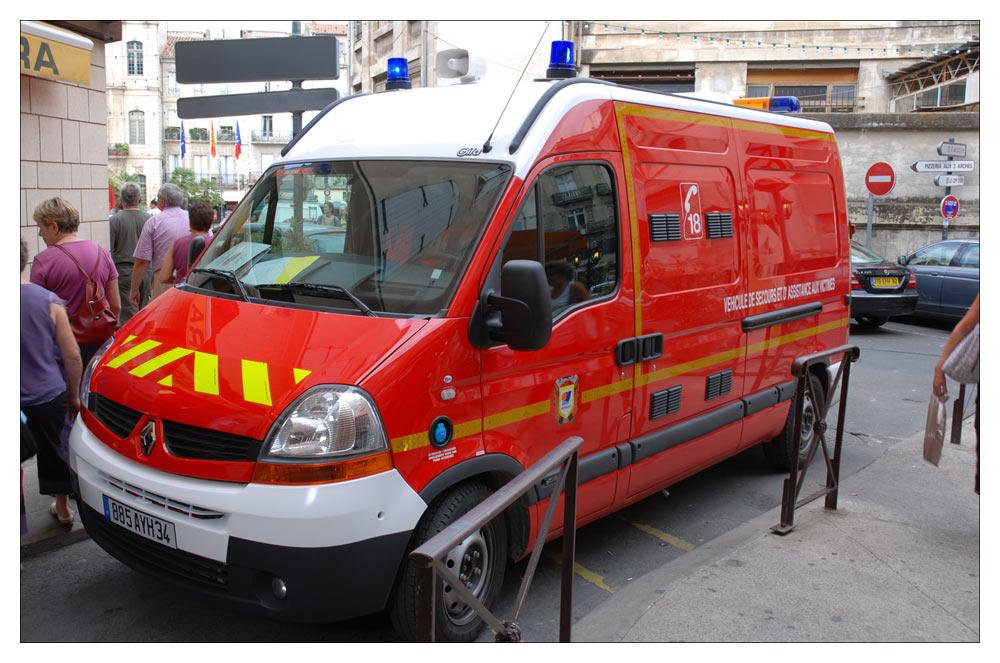 Renault in Béziers, Frankreich
