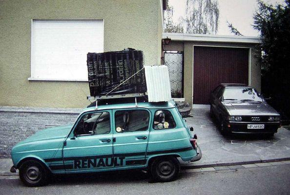 Renault R4 - das Kultauto im Einsatz :-)