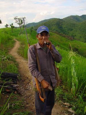 Rencontre au Laos